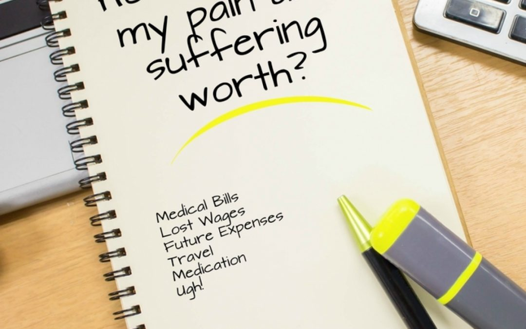 How Pain & Suffering Damages are Calculated