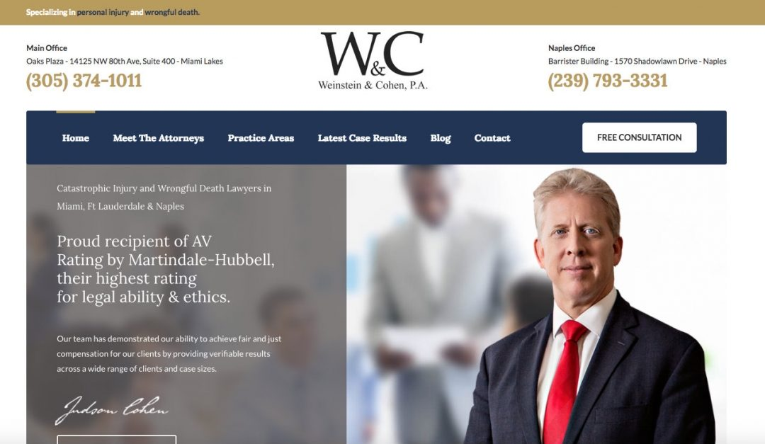 Introducing the New Weinstein & Cohen Website