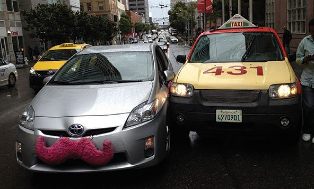 What happens if you're in a car accident with Uber or Lyft?